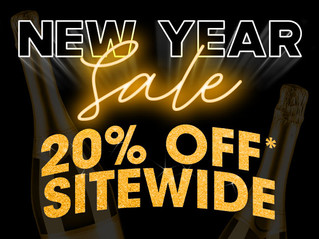 New Year 20% Sale