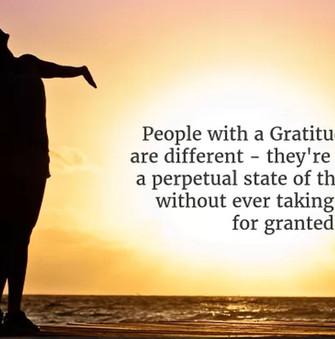 Develop A Gratitude Mindset