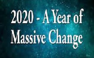 2020 A Year Of Massive Change
