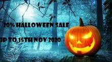20% Off Halloween Sale