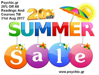Psychic.gr  20% Off Summer Sale