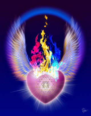 The Threefold Flame Of The Heart