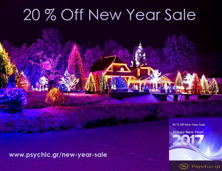 Psychic.gr New Year Sale