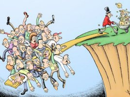 Redistribution Of Wealth On Planet Earth