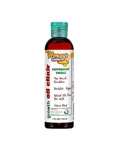 Honey's Handmade Peppermint Tingle Growth Oil Elixir
