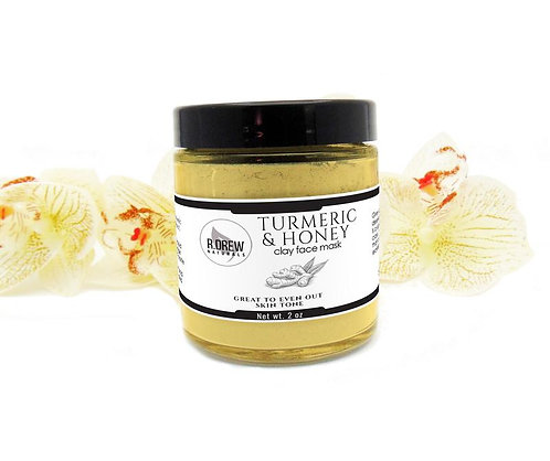 R Drew Natural Turmeric and Honey Face Mask