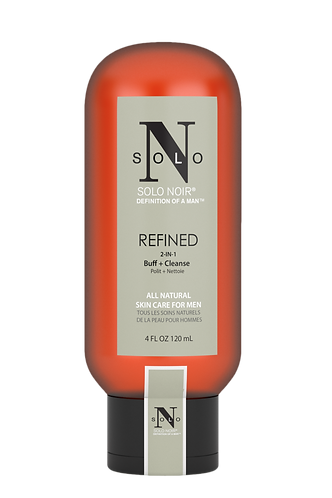 Refined Buff+Cleanse All Natural Face Scrub