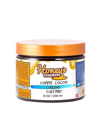 Honey's Handmade Coffee Cocoa Curl Custard