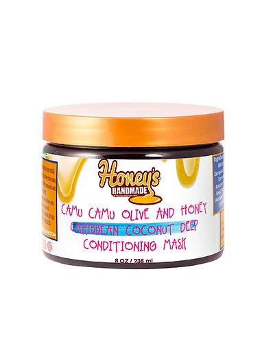 Honey's Handmade Camu Camu Olive & Honey Caribbean Coconut DC Mask