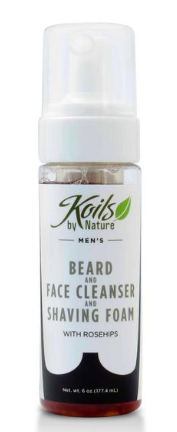 Beard/Face Cleanser and Shaving Foam