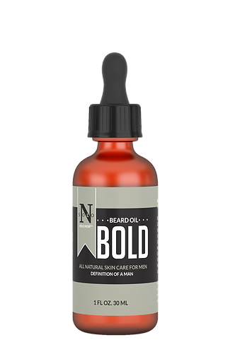 Bold All Natural PreShave+Beard Oil 1 oz