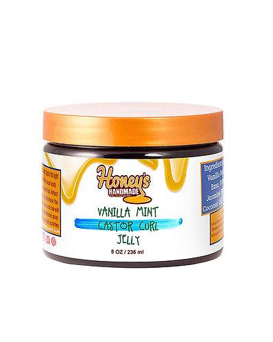 Honey's Handmade Vanilla Mint Castor Curl Jelly