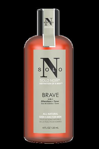 Brave All Natural Aftershave+Toner