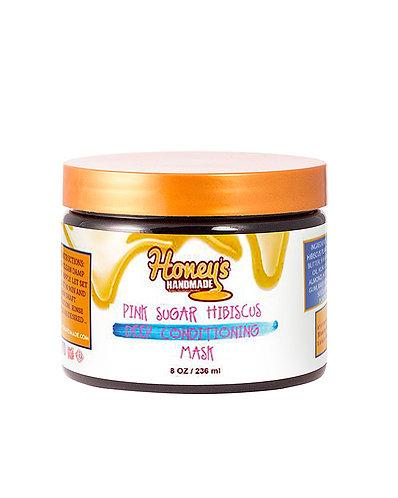 Honey's Handmade Pink Sugar Hibiscus Plant Deep Conditioner