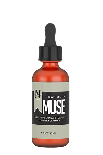 Muse All Natural Beard Oil 1 oz