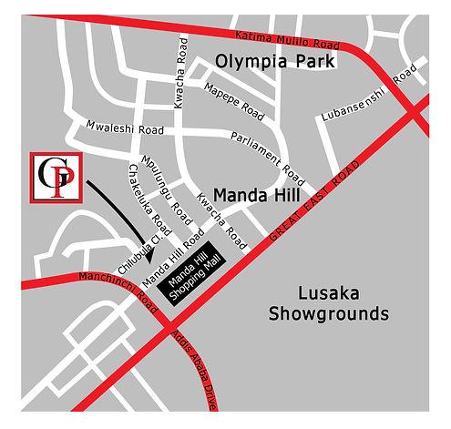 Gadsden Publishers map