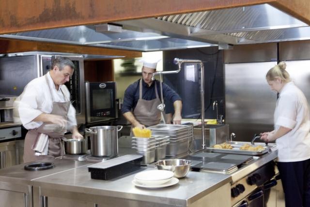 厨房内の除菌・抗菌・消臭