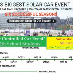 ESVC- Solar Car Event for Schools 2019