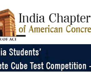 Concrete  Cube Test- Competition - 2019