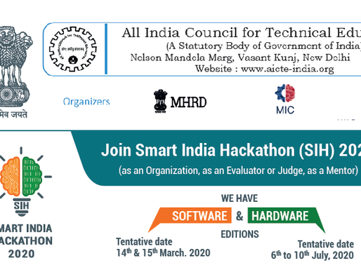 Smart India Hackathon 2020 - Problem Statements PDF