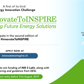 Innovate to Inspire 2019 by EESL & WRI