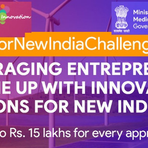 Ideas for New India 2020-MSME Contest