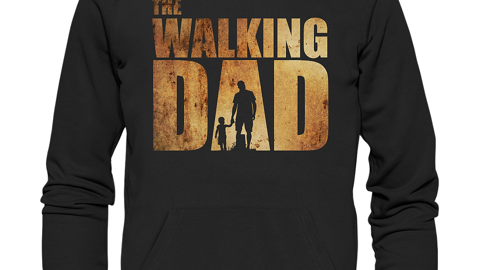 The Walking Dad - Premium Unisex Hoodie