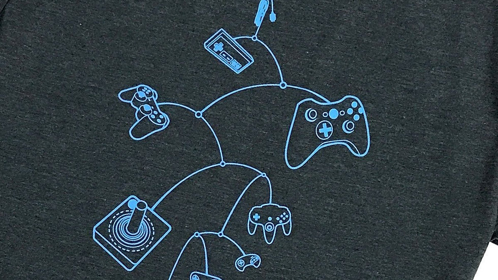 Mobile Controls T-Shirt (Charcoal)