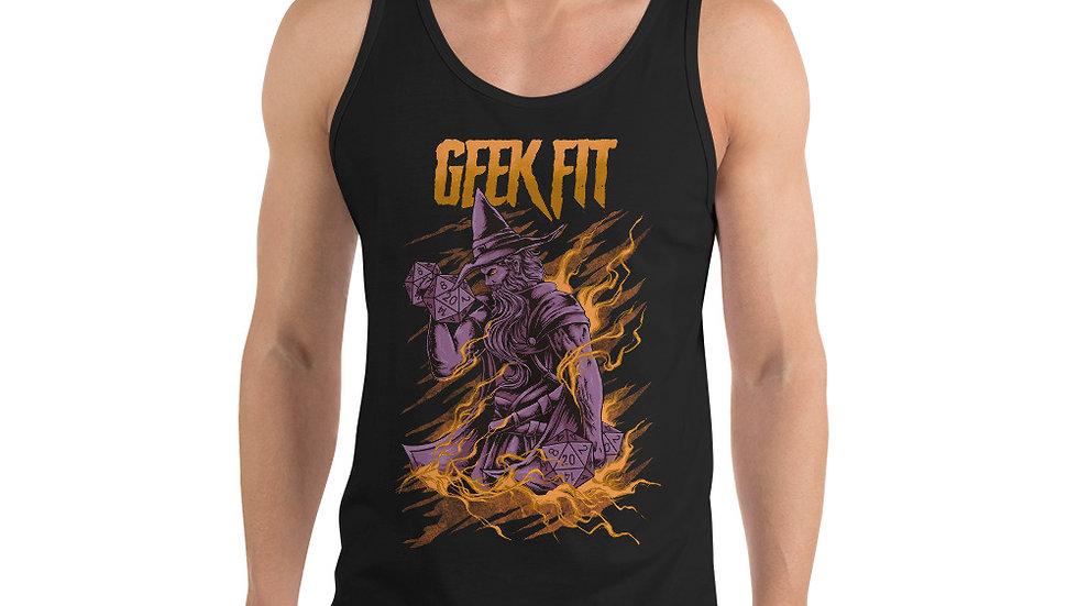 Geek Fit Latte Men's Tank Top