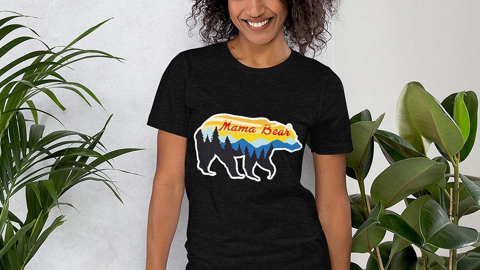 Mamma Bear Short-Sleeve Unisex T-Shirt