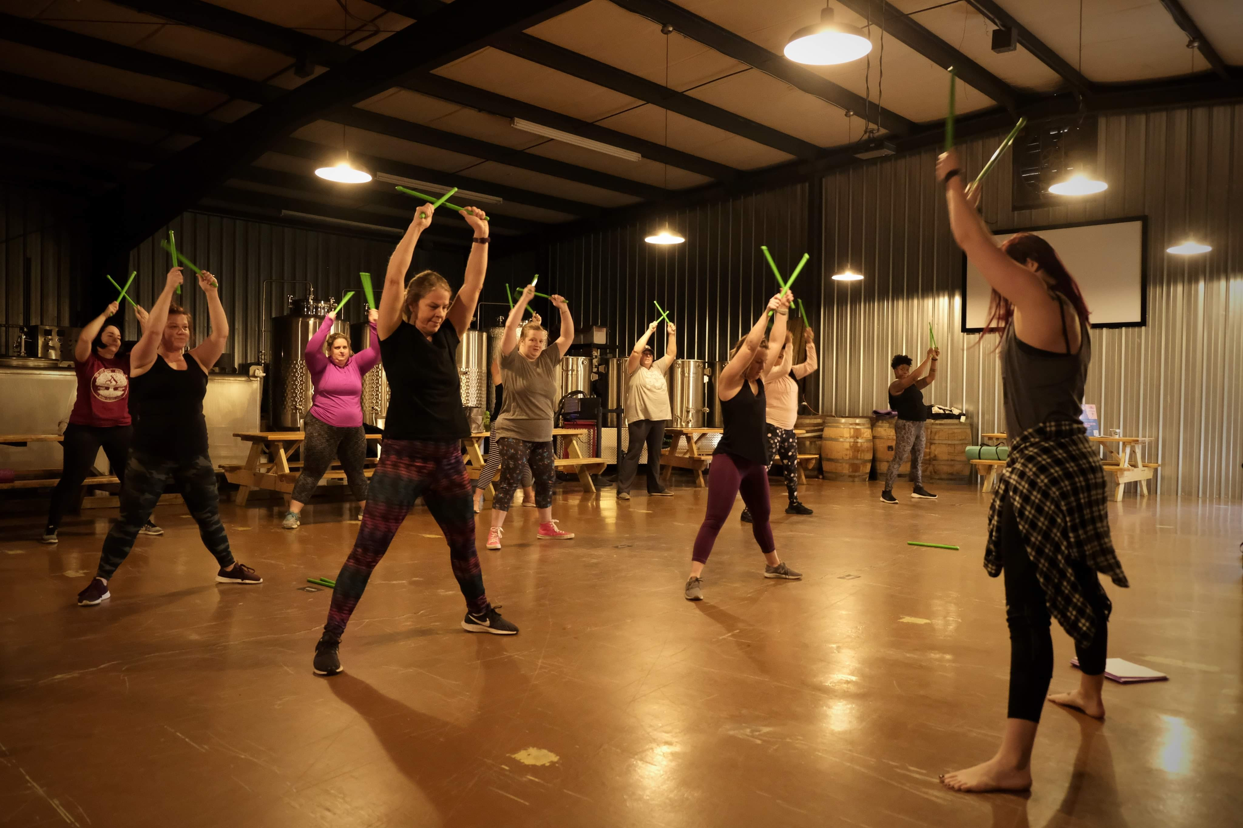 Pop-Up Group Fitness