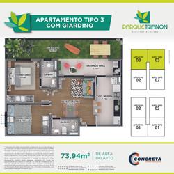 Plantas Humanizadas - Parque Trianon -
