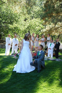 Wrightwood, CA Wedding