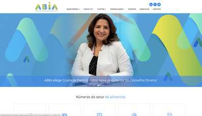 Home institucional ABIA