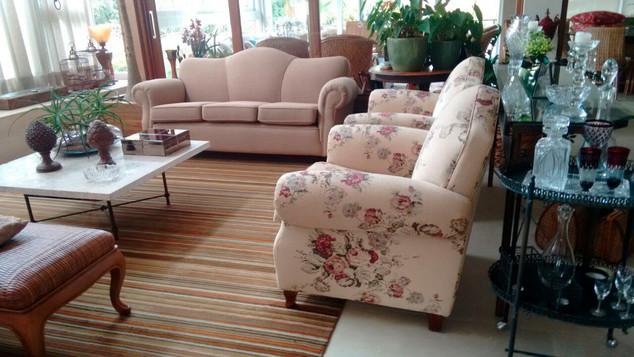Sofá tradicional