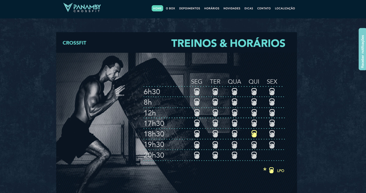 Site Crossfit Panamby