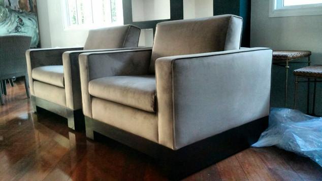 Poltronas e cadeiras