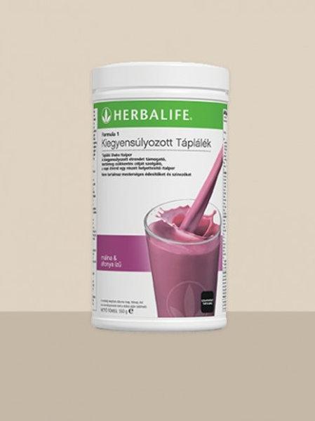 Herbalife Formula 1 Tápláló Shake Italpor – Nyári bogyós varázs ízű – 550 g
