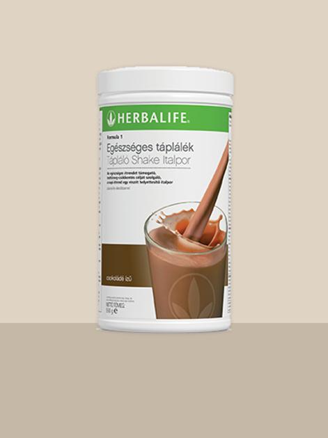 Herbalife Formula 1 Tápláló Shake Italpor – Csokoládé ízű – 550 g