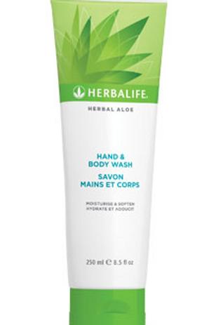 Herbal Aloe Folyékony Szappan és Tusfürdő – 250 ml