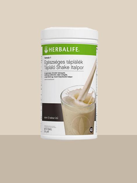 Herbalife Formula 1 Roppanós Keksz – Kiegyensúlyozott shake mix – Roppanós keksz
