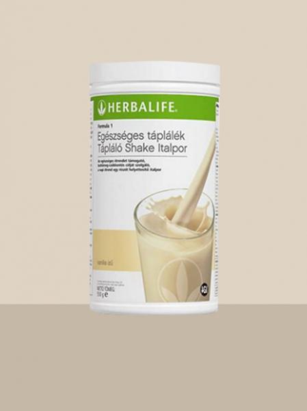 ÚJ Herbalife Formula 1 Tápláló Shake Italpor – Vanília ízű – 780 g