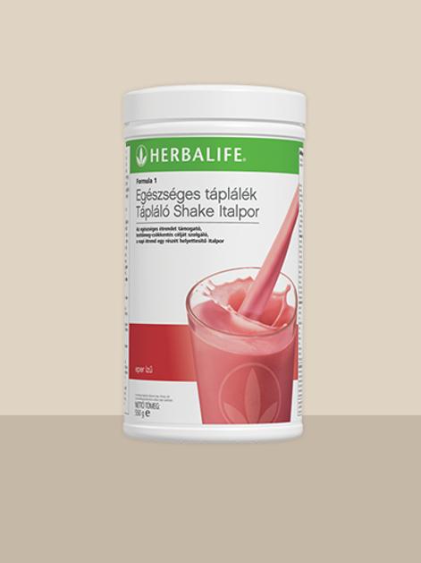 Herbalife Formula 1 Epres csoda – Kiegyensúlyozott Shake mix Epres csoda 550 g