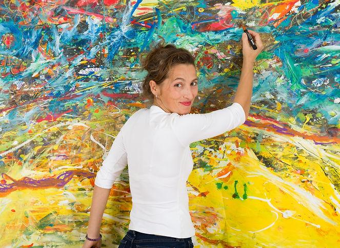 AlJane artiste peintre - femme créatrice d'images et impressions- art contemporain