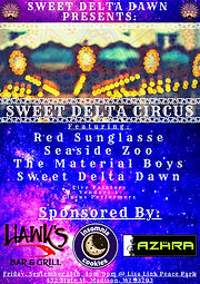 (COPY) Sweet Delta Circus Poster - Augus
