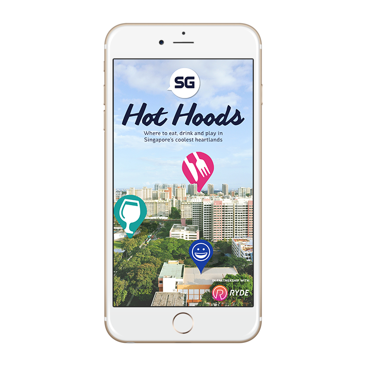 SG Hot Hoods PDF on iphone