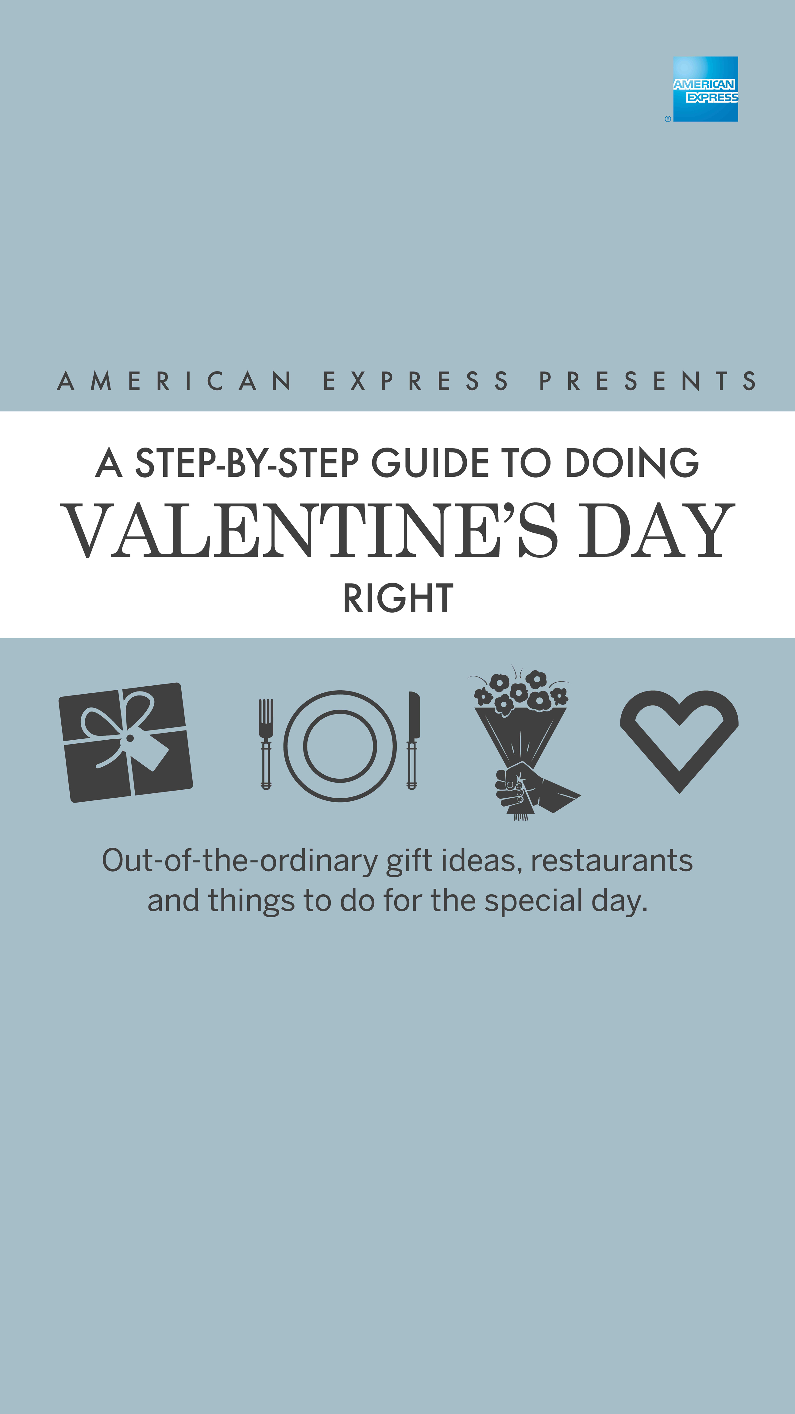 AMEX Valentine's Day Guide