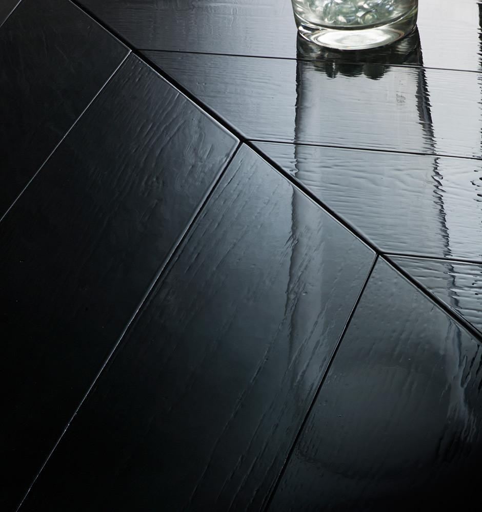 Дуб экстра бестящий черный / Oak super glossy black