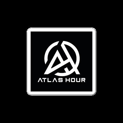 Atlas Hour Sticker Black