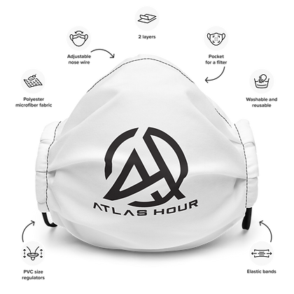 Atlas Hour Face Mask